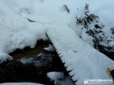 Raquetas de Nieve - Puerto de Cotos; rutas en madrid; actividades de madrid;rutas senderismo sierra